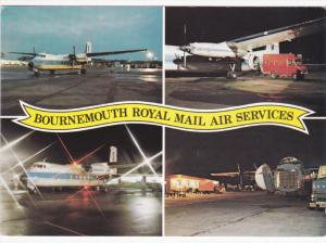 Bournemouth Royal Mail Air Services airplanes , 80-90s