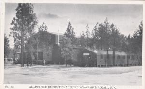 Post Headquarters, CAMP MACKALL, North Carolina, 40-60´s