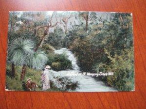 Western Australia Postcard Wongong Creek Used 1912 Postmark