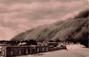 Sudan Sandstorm Haboob over Khartoum Postcard