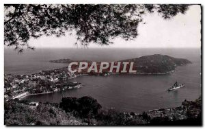 Old Postcard Villefranche Sur Mer Town La Rade And Richelieu