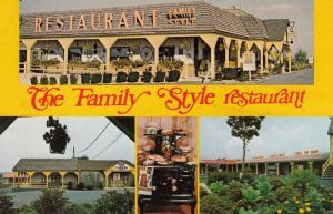 LANCASTER, Pennsylvania, 1940-60s; 4-Views, The Family Style Restaurant