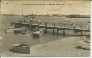 Vineyard Haven, Mass., Boat Landing And Bathing Beach