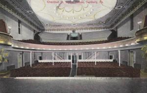 SUNBURY ,Pennsylvania , 1900-10s ; Opera House Interior