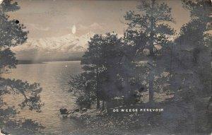 LPS68 Canon City Colorado De Weese Reservoir Postcard RPPC