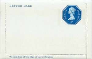 Entier Postal Stationery Postal Britain Great Britain Machin 3p