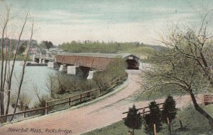 HAVERHILL , Massachusetts, 1908 ; Rocks Covered Bridge