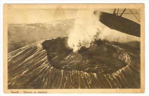 Napoli - Vesuvio in erurione, Italy, 1910s
