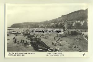 pp0337 - Isle of Wight , On The Beach Shanklin c1910 - Pamlin postcard