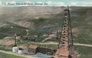 , California, 1900-1910's; Oil Well