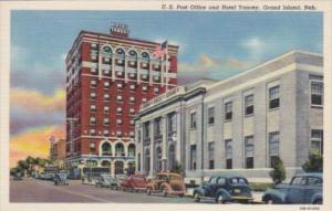 Nebraska Grand Island Post Office and Hotel Yancey Curteich