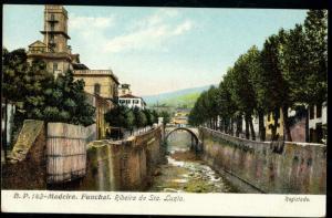 portugal, MADEIRA, FUNCHAL, Ribeira de Sta. Luzia (1910s)