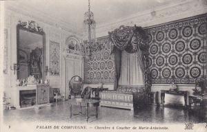 France Palais deCompiegne Chambre a Coucher de Marie Antoinette