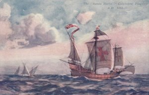 The Santa Maria Columbus' Flagship A. D. 1492, 1900-10s