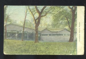 OTTAWA KANSAS TABERNACLE CHURCH CHAUTAUQUA VINTAGE POSTCARD SAGRADA MO.