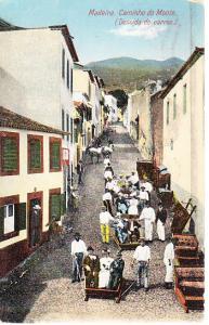Caminho do M onte (Descida do Carros) 1920