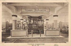 Germany Köln Werkstatt für Kriegsbeschädigte Gruppe Industrie 1916 03.85