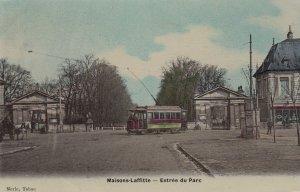 MAISONS-LAFFITTE , France , 00-10s ; Entree du Parc