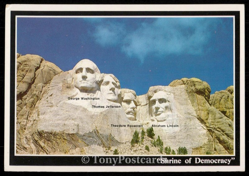 Mount Rushmore - Shrine of Democracy