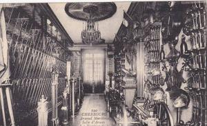 Interior, Arsenal Maritime, Salle d'Armes, Les Trophees De La Premiere Travee...