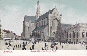 Haarlem, Groofe Markt en Groole Kerk, North Holland, Netherlands, 00-10s