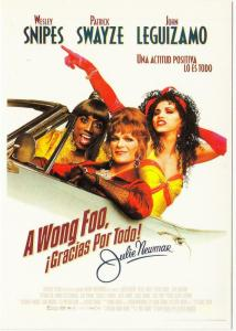 Postcard of To Wong Foo Thanks for Everything Movie Spanish Postcard