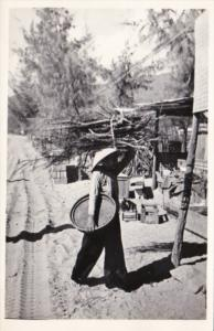 Vietnam Local Native Carrying Firewood
