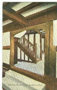 United Kingdom, Staircase, Harvard House, Stratford-on-Avon
