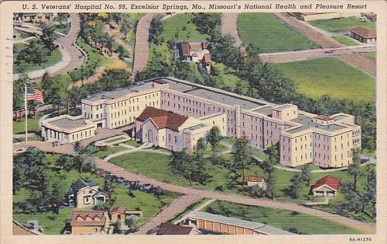 Missouri's National Health and Pleasure Resort U S  Veterans Hospital no 99 E...