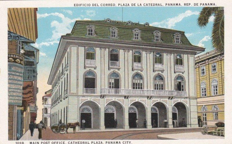 Panama Panama City Main Post Office Cathedral Plaza sk1528a
