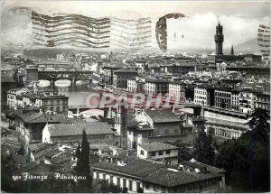 Modern Postcard Panorama Firenze