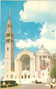 National Shrine of the Immaculate Conception  -  old unus...