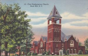 First Presbyterian Church , ROCK HILL , South Carolina ,  30-40s