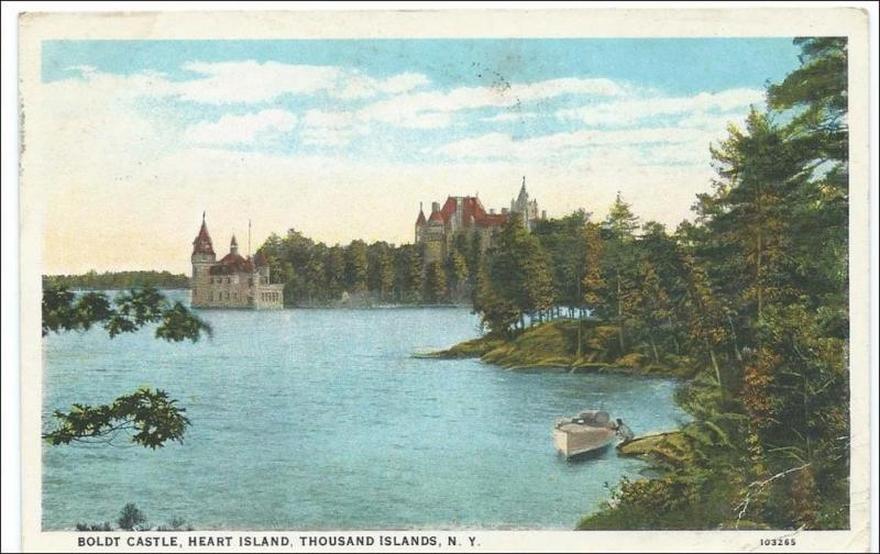 NY - Thousand Islands, Boldt Castle, Heart Island