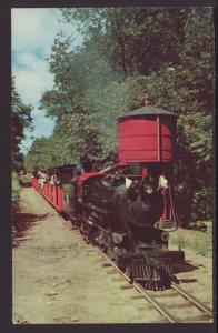 Riverside Great Northern Railway,Wisconsin Dells Postcard