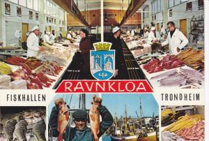 4-Views, Fish Market, Trondheim, Fiskhallen, Ravnkloa, Norway, 80-90's