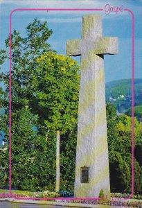 Canada Granite Cross Christ-Roi Cathedral Perce Quebec