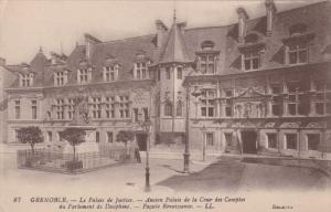 GRENOBLE, Le Palais de Justice, Facade Renaissance, Rhone-Alpes,  France,  00...