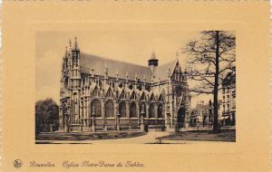 Belgium Brussels Eglise Notre-Dame du Sablon