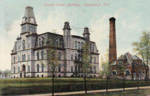 Indiana Logansport Lincoln School Building 1909
