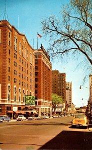 Michigan Jackson Michigan Avenue Looking East 1963