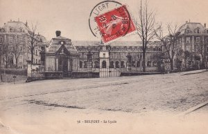 BELFORT, Territoire De Belfort, France, 1900-1910s; Le Lycee