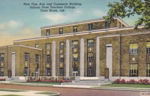 Indian Terre Haute Fine Arts & Commerce Building Indiana State Teachers Colle...