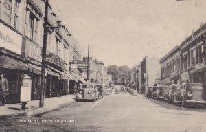 BRISTOL , Connecticut, 1930s ; Main Street
