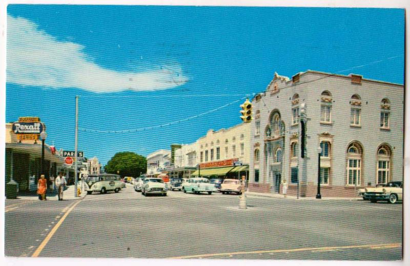 Downtown Vero Beach Fl Hippostcard