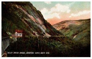 New Hampshire White Mtns Willey Brook Bridge , Crawford Notch