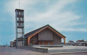 L'Eglise St-Joseph , SEPT-ILES , Quebec , Canada , 50-60s