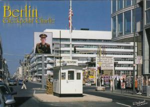 BERLIN, Germany, 2004; Checkpoint Charlie, Open air Museum of the Allied Museum