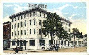 The City Hotel - Sunbury, Pennsylvania