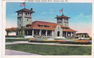 Shelter House Swope Park Kansas City Missouri 1936
